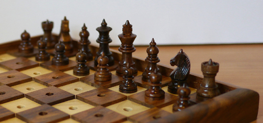 chess set for the blind