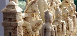 plain theme chess sets